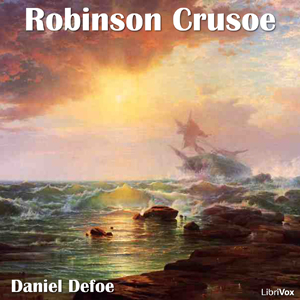 Robinson Crusoe(696) by Daniel Defoe audiobook cover art image on Bookamo