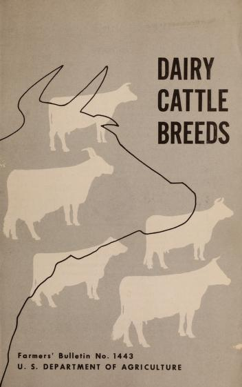 Dairy cattle breeds by Amer Benjamin Nystrom