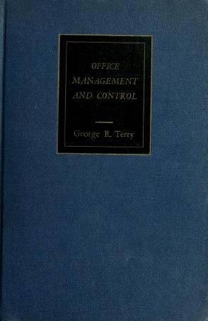 Office management and control by George Robert Terry